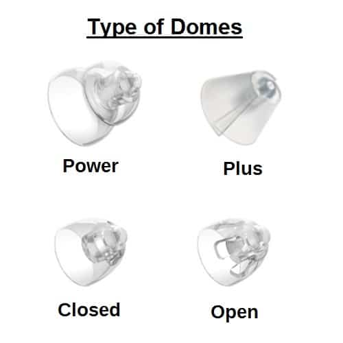 Oticon & Bernafon RITE Hearing Aid Domes