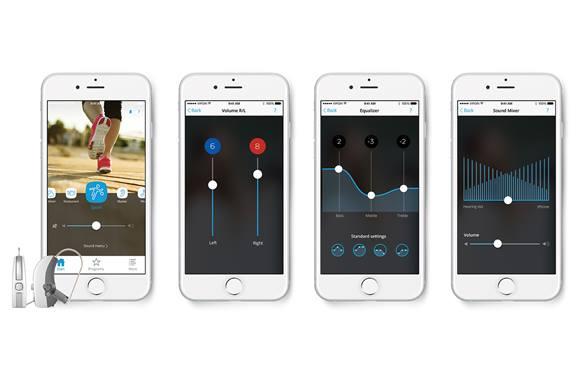 Widex iPhone App