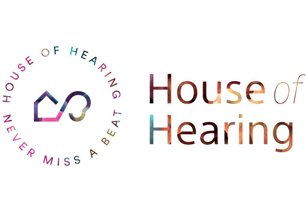 house of hearing logo on splash